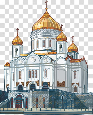 Katedral Saint Basils Gereja Katedral Christ the Savior Temple, castle PNG clipart