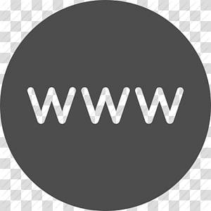 logo www biru dan hitam, Situs Ikon Komputer, Favicon World Wide Web, Www, Ikon Internet Situs png