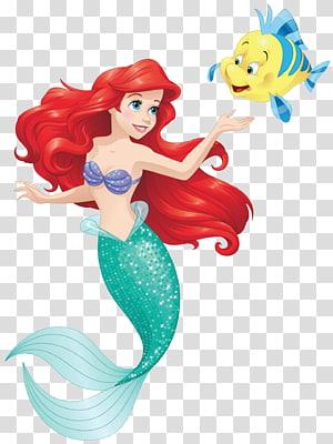 Ilustrasi Putri Duyung Disney, Ariel Sebastian Belle Putri Duyung Kecil, Putri Duyung png