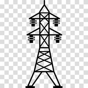 Menara tenaga surya Menara transmisi Saluran listrik overhead Transmisi daya listrik Listrik, menara listrik png