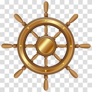 ilustrasi roda animasi kapal, Roda Kemudi kapal, Roda Kapal png