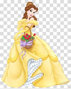 Belle Beast Cinderella Ariel Princess Jasmine, Princess Belle Cartoon, Beauty and The Beast Belle png