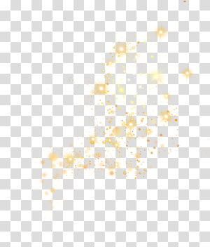 ilustrasi bintang, elemen efek halo cahaya bintang kuning png