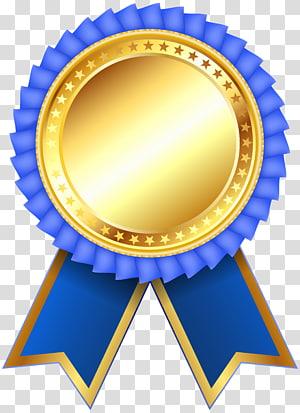 medali emas dan biru, Ikon Venturing Summit Award, Blue Award Rosette Clipar png