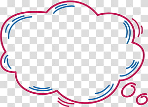 Kotak dialog Dialog, kotak dialog cloud Pink, ilustrasi cloud png
