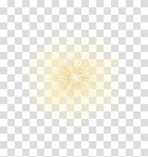 ilustrasi tampilan kembang api kuning, Radionuklida peluruhan Radioaktif Ringan, Elemen Efek Bintang Radiasi Kuning png