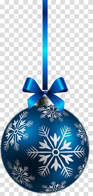 Hiasan Natal, Dekorasi Natal, Hiasan Bola Natal Biru Besar, perhiasan biru dan putih png