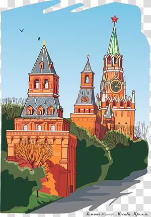 Katedral Kremlin Moskwa, Katedral Kristus Sang Juru Selamat Saint Kremlin Senat Kizhi Pogost, kastil Eropa PNG clipart