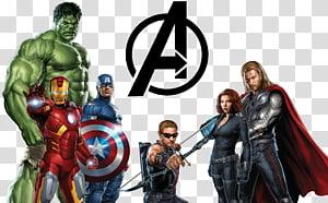 Poster Marvel Avengers, Iron Man Thor Hulk, Avengers png