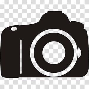 Logo Kamera, Kamera, ilustrasi kamera hitam png