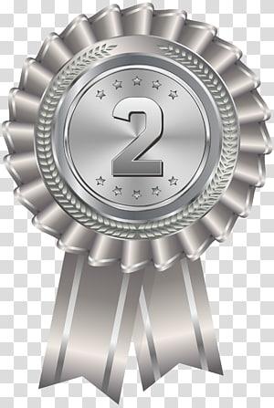 Ilustrasi tempat kedua medali perak, Penghargaan medali perak, Medali Perak png