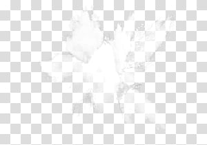 ilustrasi putih dan hitam, Light Splash Powder Ink, White powder splash png