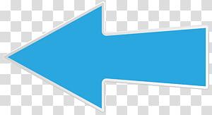 Logo Merek Garis Sudut, Panah Kiri Biru, ilustrasi panah kiri PNG clipart