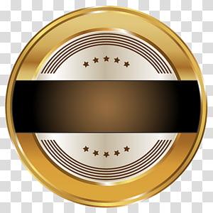 logo hitam putih bulat,, Seal Badge Template PNG clipart