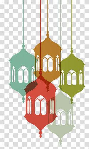 Ramadan Islam Idul Fitri Masjid, Ramadhan, ilustrasi lampu gantung png