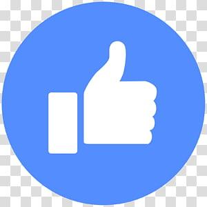 YouTube Facebook suka tombol Emoticon, Thumbs up, like icon png
