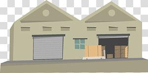 ilustrasi rumah abu-abu, Gudang Bangunan Berpihak, gudang png