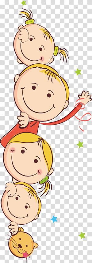 Anak, Kartun anak-anak, ilustrasi anak perempuan png