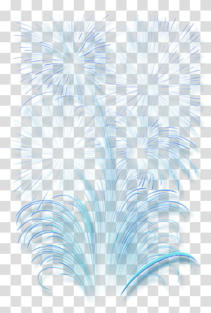 Teks Biru desain Grafis Ilustrasi Langit, Efek Kembang Api, karya seni kembang api png