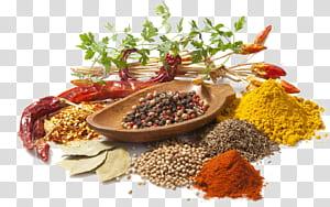 Masakan India Bumbu Rempah Herbal, Bumbu Bumbu Makanan, berbagai macam bahan png