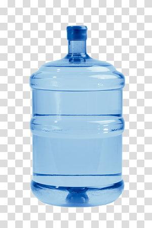 wadah air biru, Air botol Air pendingin Air minum, Air kemasan murni png