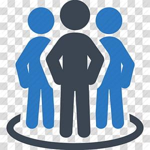 ilustrasi teal dan abu-abu, Ikon Komputer Grafik yang Dapat Dihitung, Ikon Tim Bisnis, Pemimpin Bisnis png