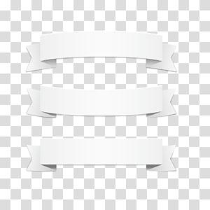 Pola Putih, pita putih, tiga pita putih png