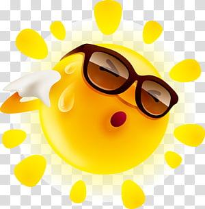 ilustrasi matahari, Perasaan, Kartun matahari PNG clipart