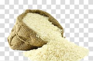 nasi putih dalam ilustrasi karung coklat, nasi Jeera Basmati Masakan India Makanan, nasi png