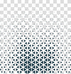 Pola Segitiga Hitam dan putih, Segitiga Teknologi Biru, grafik hitam png