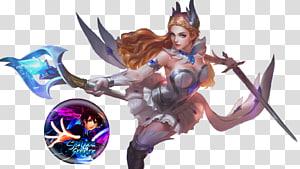 ilustrasi karakter perempuan memegang pedang, Legenda Mobile: Bang Bang HTC Legend Hero Rendering Karakter, legenda ponsel png