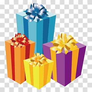 berbagai macam ilustrasi kotak hadiah, Lilin Hadiah Natal, Hadiah png