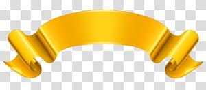 Ribbon Gold, Gold Banner, ilustrasi logo coklat png