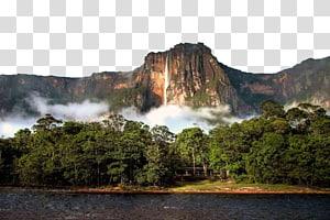 Angel Falls Mxe9rida, Mxe9rida Auyxe1n-tepui Gunung Roraima, Venezuela Angel Falls s png