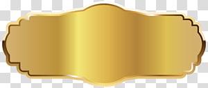 Ikon Emas, Label Emas, lencana berwarna emas PNG clipart