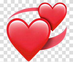 Emoji iPhone Heart iOS, Emoji png