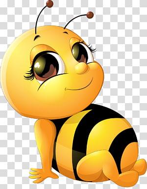ilustrasi lebah kuning dan hitam, kartu Hadiah Hari Kertas Natal, kotak hadiah Merah Muda png