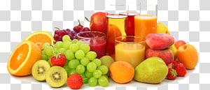 ilustrasi berbagai macam buah, jus jeruk, jus buah apel, gratis jus ikon png