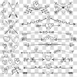 ilustrasi panah dan hati, Undangan pernikahan Panah Menggambar Hari Kasih Sayang, panah png