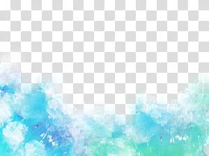 Blue Shading, Blue shading, lukisan abstrak biru png