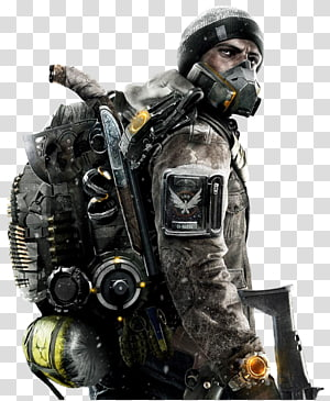 orang memegang senjata, Tom Clancy Divisi: Survival Expansion II Tom Clancy Divisi 2 Uplay Video game Ubisoft, tom clancys ghost pengintaian png