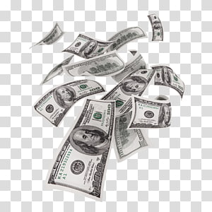 100 dolar AS, banyak uang kertas, Uang Dolar Amerika Serikat, uang kertas seratus dolar Amerika Serikat, uang kertas satu dolar Amerika Serikat, uang kertas dua puluh dolar, uang mengambang png