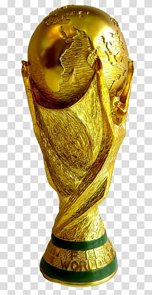 Piala Dunia FIFA 2018 2014 Piala Dunia FIFA 2026 Piala Dunia FIFA 1930 Piala Dunia FIFA FIFA Club World Cup, piala dunia, trofi Piala Dunia FIFA berwarna emas dan hijau png