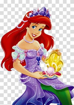 Ariel Belle Princess Aurora Minnie Mouse Mickey Mouse, Ariel The Little Mermaid, The Little Mermaid Ariel png