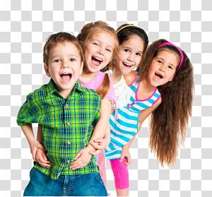 Anak .xchng, Anak-anak yang lucu dan bahagia, cut-out tiga perempuan dan laki-laki png