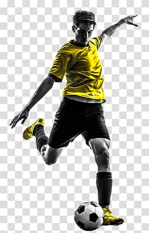 Pria yang sedang bermain sepak bola, Pemain Sepak Bola Olah Raga Olah raga profesional, pesepakbola png