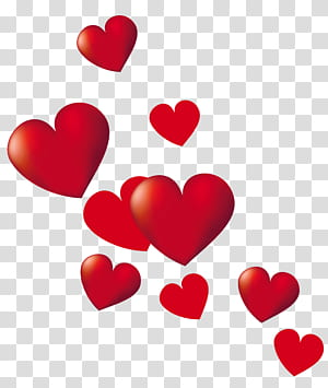 Poster Heart, Hearts, red heart png