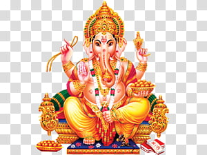 Ilustrasi Ganesha, Ganesha Shiva Parvati Kali Hindu, Ganesha png