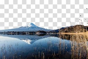 Gunung Fuji Landscape Nature Mountain, Keindahan alam Gunung Fuji di Jepang png