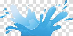 Ilustrasi Tetesan Air Splash, Tetesan air kartun, ilustrasi badan air png